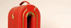 Βαλίτσες με βρετανικό στυλ